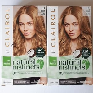 2 Clairol Natural Instincts Permanent Hair Color 8